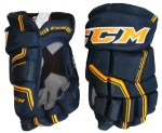 Hokejové rukavice CCM Quicklite 270 LTD modro-žluté