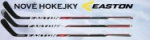 Nová řada hokejek Easton Synergy