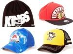 Nové zimní čepice a kšiltovky NHL