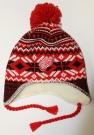 Zimní čepice ušanka REEBOK Tassle Pom NHL Detroit Red Wings