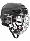 Hokejová helma CCM Resistance 100 Combo - černá vel. S