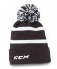 Zimní čepice kulich CCM Pom Knit