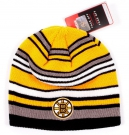 Zimní čepice REEBOK Knit NHL Boston Bruins