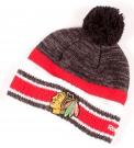 Zimní čepice kulich REEBOK Center Ice NHL Chicago Blackhawks