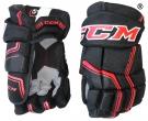 Hokejové rukavice CCM Quicklite 270 LTD SR černo-červené