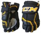 Hokejové rukavice CCM Quicklite 270 LTD SR černo-žluté