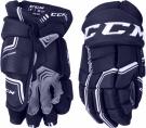 "Hokejové rukavice CCM Quicklite SR tmavě modré - vel. 14"""