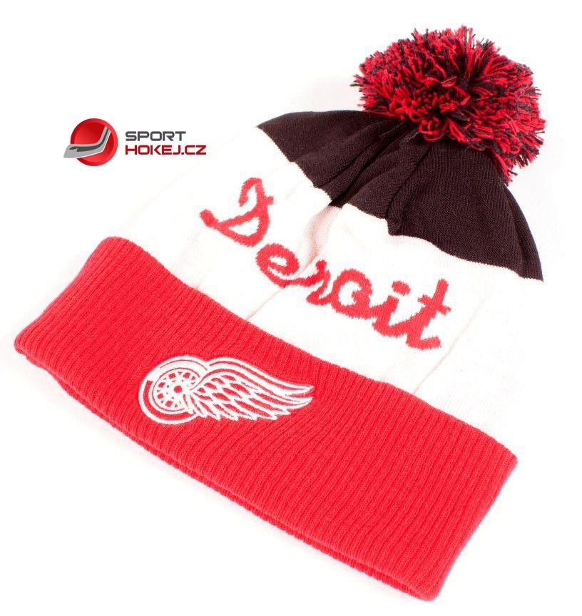Zimní čepice kulich REEBOK Script NHL Detroit Red Wings  0e5fc7550e