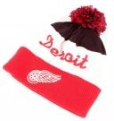 Zimní čepice kulich REEBOK Script NHL Detroit Red Wings