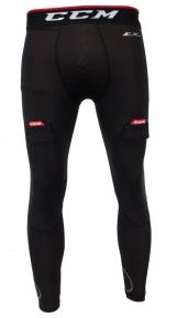 Hokejový suspenzor - Kalhoty CCM Compression Jock Pant SR