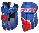 """Hokejové rukavice CCM Quicklite 270 LTD SR modro-červené - vel. 13"""""""