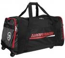 Hokejová taška na kolečkách WARRIOR Covert Roller Bag SR černo-červená