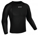Ribano - triko s dlouhým rukávem CCM Compression LS Shirt With Gel Application JR