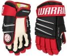 Hokejové rukavice WARRIOR Alpha QX4 SR černo-červené
