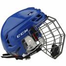 Hokejová helma CCM Tacks 710 Combo - modrá vel. S