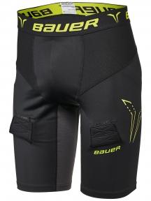 Hokejový suspenzor BAUER Premium Compression Jock Short SR