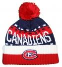 Zimní čepice kulich REEBOK NHL Team Name Cuff Pom Montreal Canadiens
