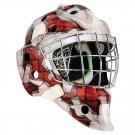 Brankářská maska BAUER NME 4 SR Wall Red