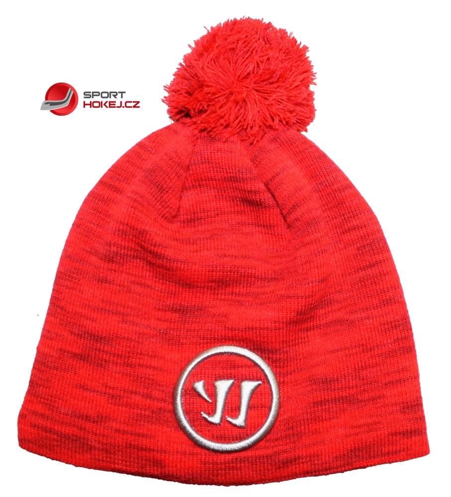 Zimní čepice kulich WARRIOR červená  32f47adc4d