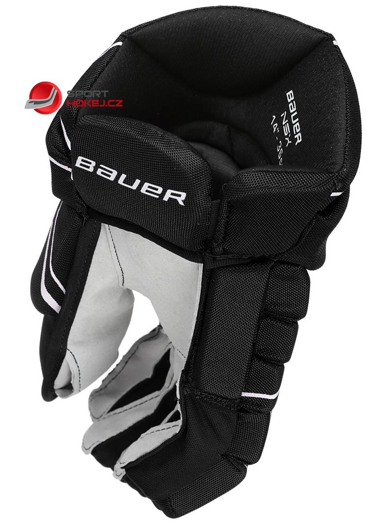 d91c81ea8ee ... Hokejové rukavice BAUER NSX SR
