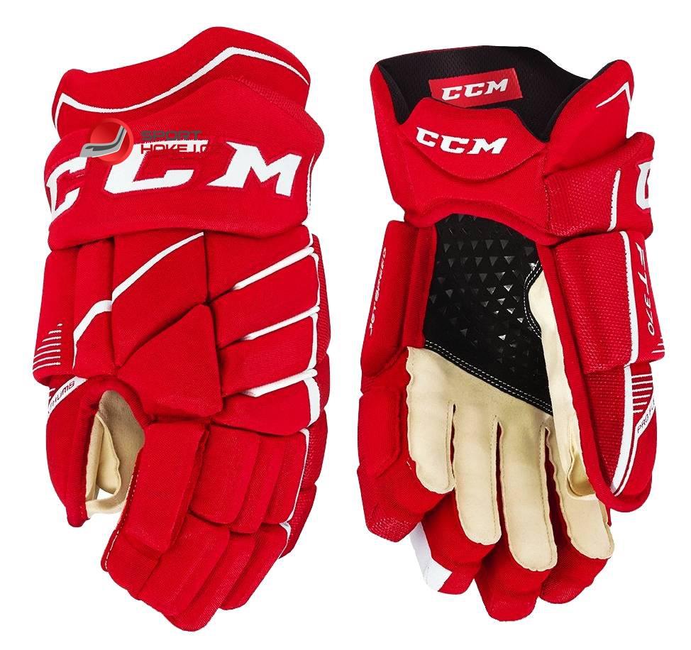 4a0e586917b Hokejové rukavice CCM JetSpeed FT 370 JR