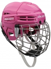 Hokejová helma BAUER IMS 5.0 SR Combo růžová - vel. M