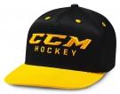 Kšiltovka CCM True2Hockey Snapback černá / žlutá