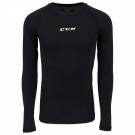 Ribano - triko s dlouhým rukávem CCM Performance Compression LS Shirt JR
