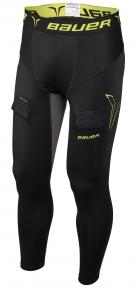 Hokejový suspenzor - Kalhoty BAUER Premium Compression Jock Pant SR