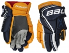 Hokejové rukavice BAUER Vapor X800 Lite JR modro-žluté