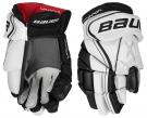 Hokejové rukavice BAUER Vapor X800 Lite SR bílo-černé