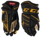 Hokejové rukavice CCM JetSpeed FT 370 JR černo-žluté