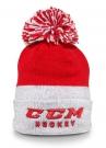 Zimní čepice kulich CCM True2Hockey červená