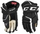 Hokejové rukavice CCM Tacks 9040 JR černo-bílé