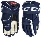 Hokejové rukavice CCM Tacks 9060 JR modro-bílé