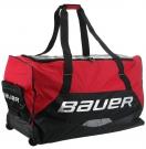 """Hokejová taška na kolečkách BAUER Premium Wheel JR 33"""" červená"""