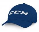 Kšiltovka CCM Team FlexFit tmavě modrá