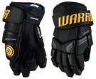 """Hokejové rukavice WARRIOR Covert QRE 4 SR černo-žluté - vel. 14"""""""