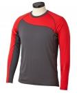 Ribano - Tričko BAUER Pro LS SR šedo-červené