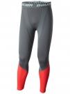 Ribano - Kalhoty BAUER Pro SR šedo-červené