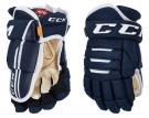 Hokejové rukavice CCM Tacks 4R Pro 2 SR tmavě modré