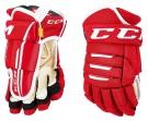 Hokejové rukavice CCM Tacks 4R Pro 2 SR červené