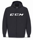 Mikina na rozepínání CCM CVC SR černá