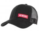 Kšiltovka CCM Allout Trucker černá