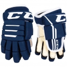 Hokejové rukavice CCM Tacks 4R2 YTH tmavě modré