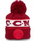 Zimní čepice kulich CCM Team Heritage červená