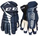 Hokejové rukavice CCM JetSpeed FT4 SR tmavě modré