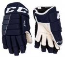 Hokejové rukavice CCM Tacks 4R JR tmavě modré
