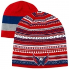 Zimní čepice REEBOK Reversible NHL Washington Capitals